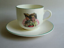 French Breakfast Set Les Petits Jardinieres - Little Gardeners Cup & Saucer