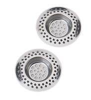 grille filtre pour évier, 2 grilles de 7 cm en acier inox pour évier ,lavabo