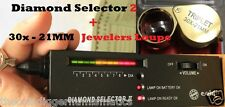 Diamond Tester Gemstone Jewelry Test Audio Portable Jewelers Loupe Hand Lens