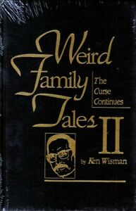 Ken Wisman / Weird Family Tales I & II / Leather, Limited edition