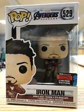 FUNKO POP AVENGERS ENDGAME: IRON MAN WITH GAUNTLET NYCC 2019 SHARED