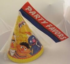 Vintage 1977 Sesame Street Party Hats MIP