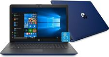 """HP Touch 17-by2005ds Blue Laptop PC 17.3"""" 2.4Ghz 8GB 512GB SSD AC Backlit Key"""