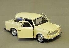 Original Welly Trabant 601 beige mit öffenbaren Türen ca. 11 cm NEU
