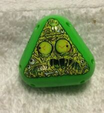 2010 Mighty Beanz S4 Limited Edition Triangle Bean - #515 Zombie Pizza Bean