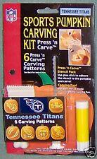 Tennesee Titans Halloween Pumpkin Carving Kit NEW!