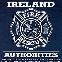 Ireland Fire & Rescue Irish T-shirt  3XL  Long Sleeves