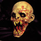 Schell Shocked Undead Bloody Zombie Scary Adult Latex Halloween Mask