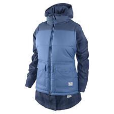 WOMENS 3 IN 1 BELLEVUE BLUE PLAID NIKE COAT JACKET M MEDIUM MD $300 SNOWBOARD