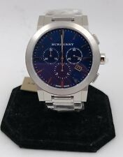**Burberry Men's Swiss Chronograph Stainless Steel Watch 42mm**