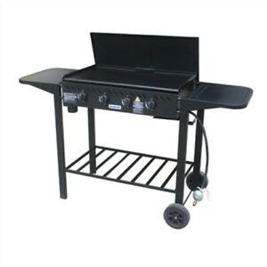 Jumbuck 4 Burner Delta Gas BBQ Barbeque Flat Top