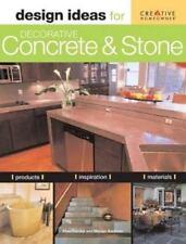 Design Ideas for Decorative Concrete and Stone