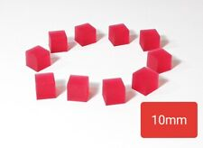10 Red Energon Cubes for Transformers MP G1 Legends Optimus Megatron Bee
