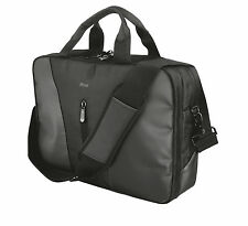 "TRUST MODENA 20356 16"" PREMIUM LAPTOP SHOULDER CARRY BAG WITH TABLET COMPARTMENT"
