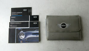 Genuine Used MINI Owners Handbook Case / Wallet / Book Pack for R50 R52 R53 #11