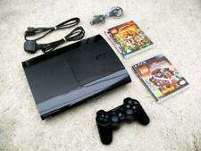 Sony Playstation 3 / PS3 Console ~ Super Slim 12GB ~ CECH-4203A  + Games /Tested
