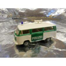 ** Brekina 33081 VW T2 Police Bus White/Green 1:87 HO Scale