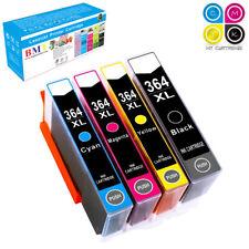 4 Ink Cartridge for HP 364 XL Photosmart 5510 5515 5520 5524 6510 C6380 Printer