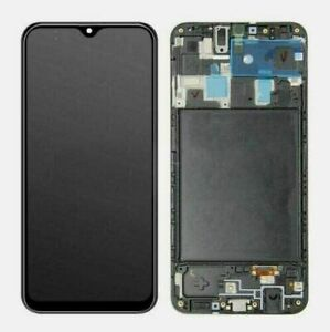 For Samsung Galaxy A20 A205U A205G A205 Display LCD Screen Touch Digitier Frame