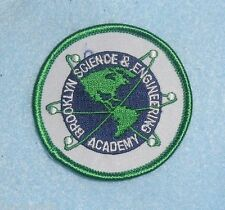 "Brooklyn Science & Engineering Academy Patch - New York - 2 1/2"" x 2 1/2"""