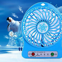 KQ_ AU_ IC- KF_ FP- KQ_ Rechargeable Summer Air Cooler USB 18650 Battery Powered