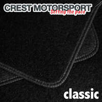 CLASSIC Tailored Black Car Floor Mats to fit NISSAN MICRA (K11) 1993-2003