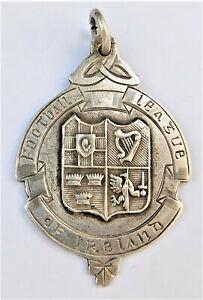 NO RESERVE Limerick FC 1944/45 Silver Fob Medal Football League of Ireland Badge