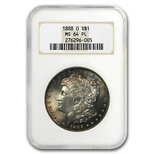 1888-O Morgan Dollar MS-64 PL NGC