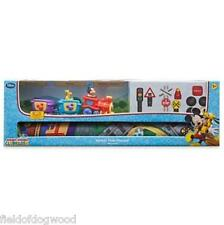 NEW DISNEY STORE Mickey Mouse Clubhouse Train Playmat Mickey Pluto Vehicle