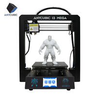 "US Stock ANYCUBIC I3 Mega 3D Printer Upgrade All-Metal Frame Ultrabase 3.5"" TFT"