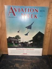 Aviation Week Magazine May 9, 1955 Issue. Great Ads,Stories!