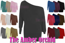 Batwing Scoop Neck Tops & Shirts Plus Size for Women
