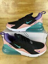 Nike Air Max 270 Have A Nike Day Coral Jade Black CI2309-001 Shoes Mens sz 12