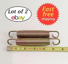 """5.5 Inch Zinc Replacement Trampoline Springs with 28 Coils,7/8"""" Wide, Pack of 2"""