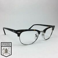 RAY BAN CLUB MASTER STYLE eyeglass TORTOISE SILVER frame Authentic. MOD: RB 5154