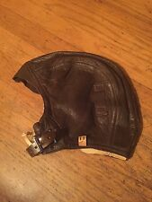 Dead Stock NAF WW2 USN USMC Pilot & Aircrew Leather Flying Helmet Type 1092-72