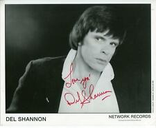 Del Shannon Autograph Singer Runaway Hats off to Larry Signed Photo