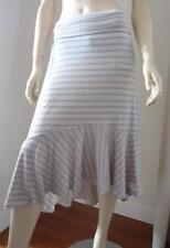 metalicus Nylon Striped Skirts for Women