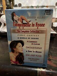 Emmanuelle in Space Collection DVD 7 Disc Set Krista Allen OOP Rare HTF SEALED