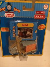 NIP - Diecast Ned the Steam Shovel for Thomas and Friends Take N Play Take Along