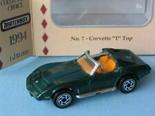 Matchbox Collectors Choice Corvette T Roof Green USA Toy Model Sports Car