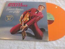 maxi 45t  Johnny Hallyday ,vinyle orange,