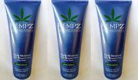 Lot of 3 Hempz Triple Moisture Herbal Whipped Creme Body Wash 8.5 oz