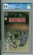 "Batman #404 CGC 9.6 ""Year One"" Storyline Begins 1987"