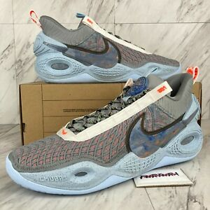 Nike Cosmic Unity Men's Size 13.5 Shoes Grey Chambray Blue DA6725-002 No Lid