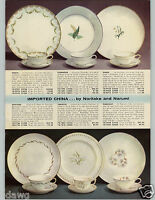 1937 PAPER AD Morimura Bros Noritake China Japanese China Goldena