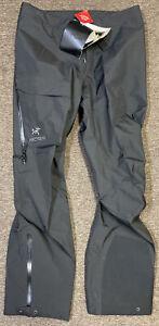 Arcteryx Men's Beta AR Gore-Tex Pro Pants Large - Tall Black 25700 $500 NEW