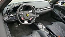 Genuine Ferrari 458 Italia Black Floor Mat Set OEM Brand NEW Part# 83236090
