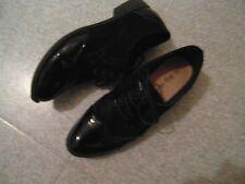Taille 39 magnifiques chaussures noires vernis et daim  EXCELLENT ETAT