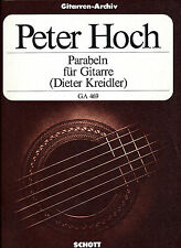 Peter Hoch - Parabeln für Gitarre solo
